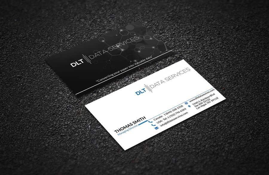 Kilpailutyö #471 kilpailussa Create business card