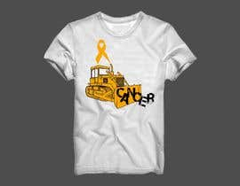 #7 for Beat Cancer shirt design af franklugo