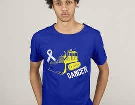 #48 for Beat Cancer shirt design af HashamRafiq2