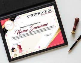 #20 for design a love certificate template with my logo af satishandsurabhi