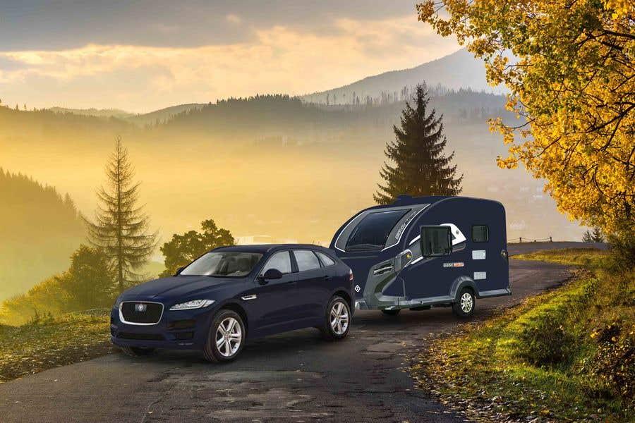 Penyertaan Peraduan #358 untuk Photoshop carvan on background image and change colour