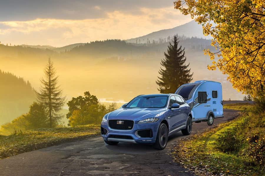 Penyertaan Peraduan #8 untuk Photoshop carvan on background image and change colour