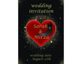 #119 for design of wedding invitations by nicesusomaakter