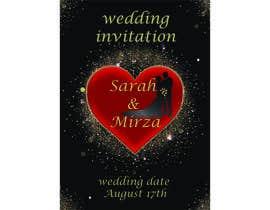 #119 para design of wedding invitations por nicesusomaakter