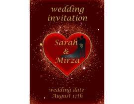 #120 para design of wedding invitations por nicesusomaakter