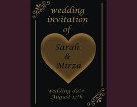 #126 for design of wedding invitations by nicesusomaakter