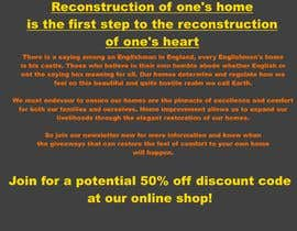 #2 for Landing page text (Collecting emails for newsletter) for blog about home improvement af ImperiusCompany