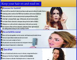 #13 for Poster design for wellcure - Heal Your Hair by AkashBangladesh