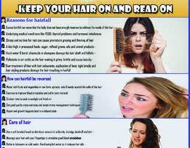 #15 for Poster design for wellcure - Heal Your Hair by AkashBangladesh
