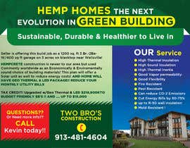 #77 for Professional Flyer - for Hemp House by mylogodesign1990