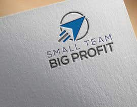 Nambari 57 ya Small Team. Big Profit  Logo Creation Contest na arialdesign123