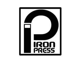 #134 para Logo Design for IronPress por ancellitto