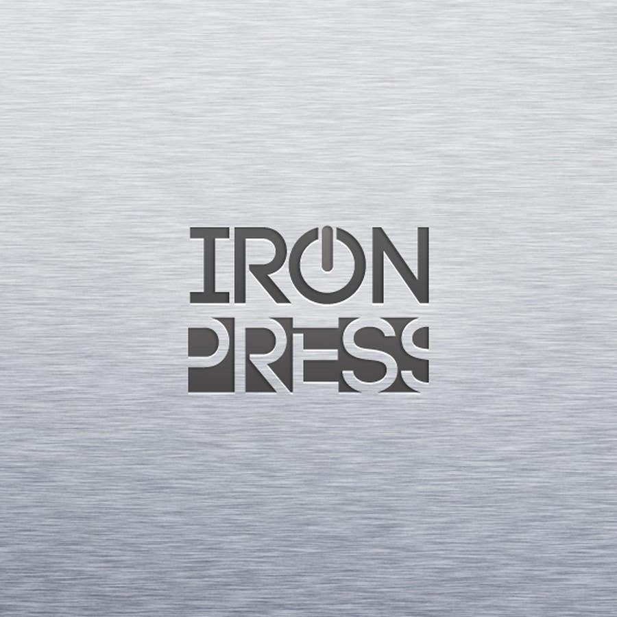 Participación en el concurso Nro.50 para Logo Design for IronPress