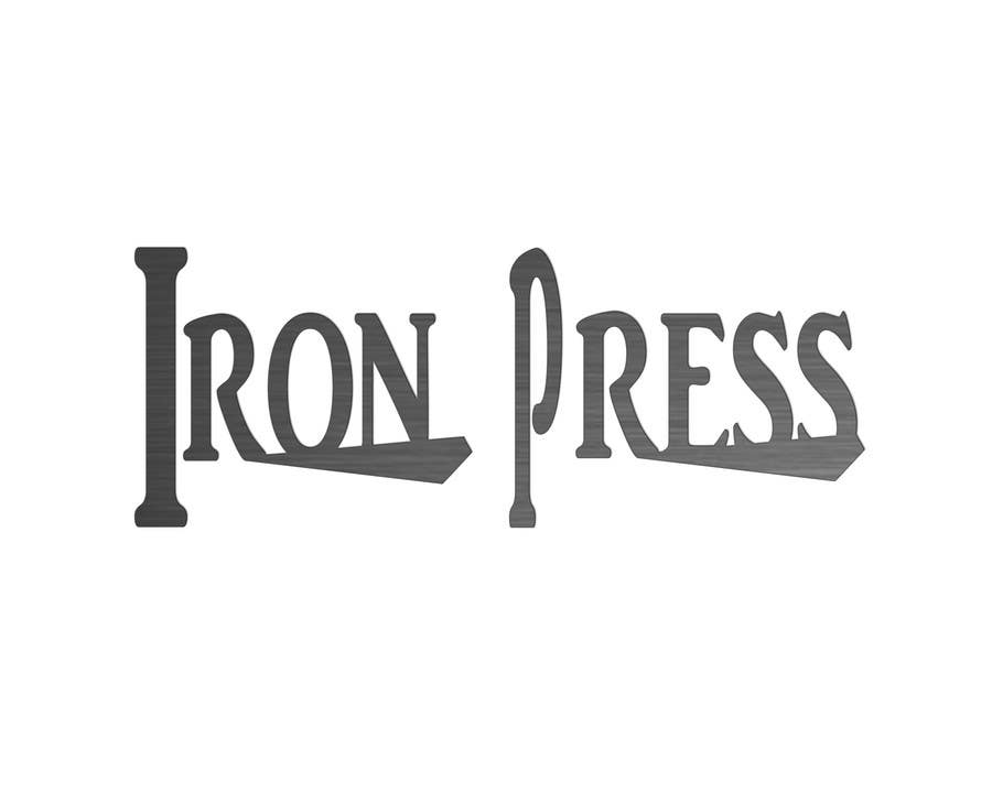 Participación en el concurso Nro.58 para Logo Design for IronPress
