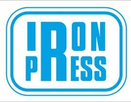#24 para Logo Design for IronPress de dimitarstoykov