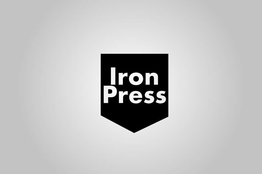 Participación en el concurso Nro.117 para Logo Design for IronPress