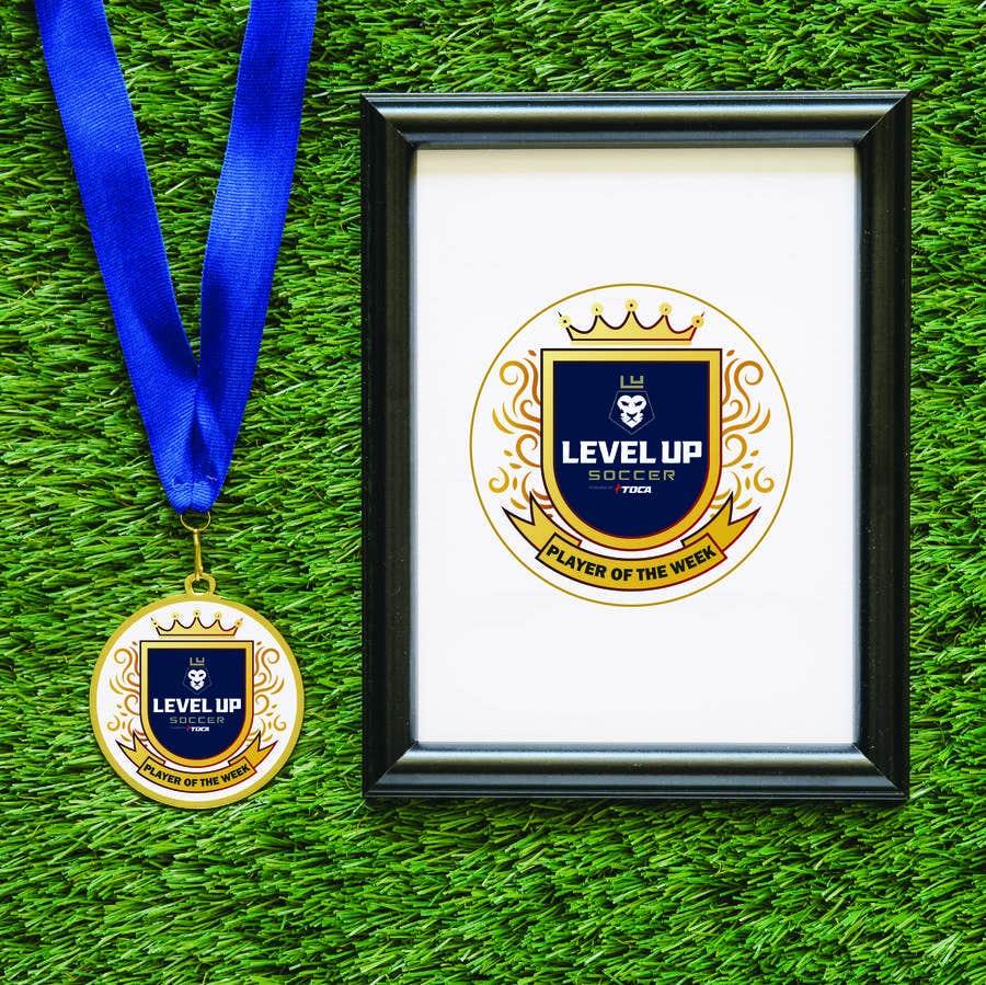 Bài tham dự cuộc thi #44 cho URGENT Need medal design for player of the week