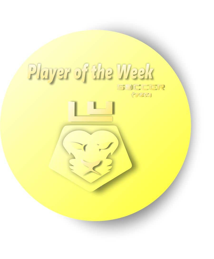 Proposition n°42 du concours URGENT Need medal design for player of the week