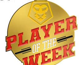 #12 para URGENT Need medal design for player of the week por devinpopetm