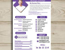 #10 para 5 pdf CV templates/designs for 5 websites por Monjilalamia
