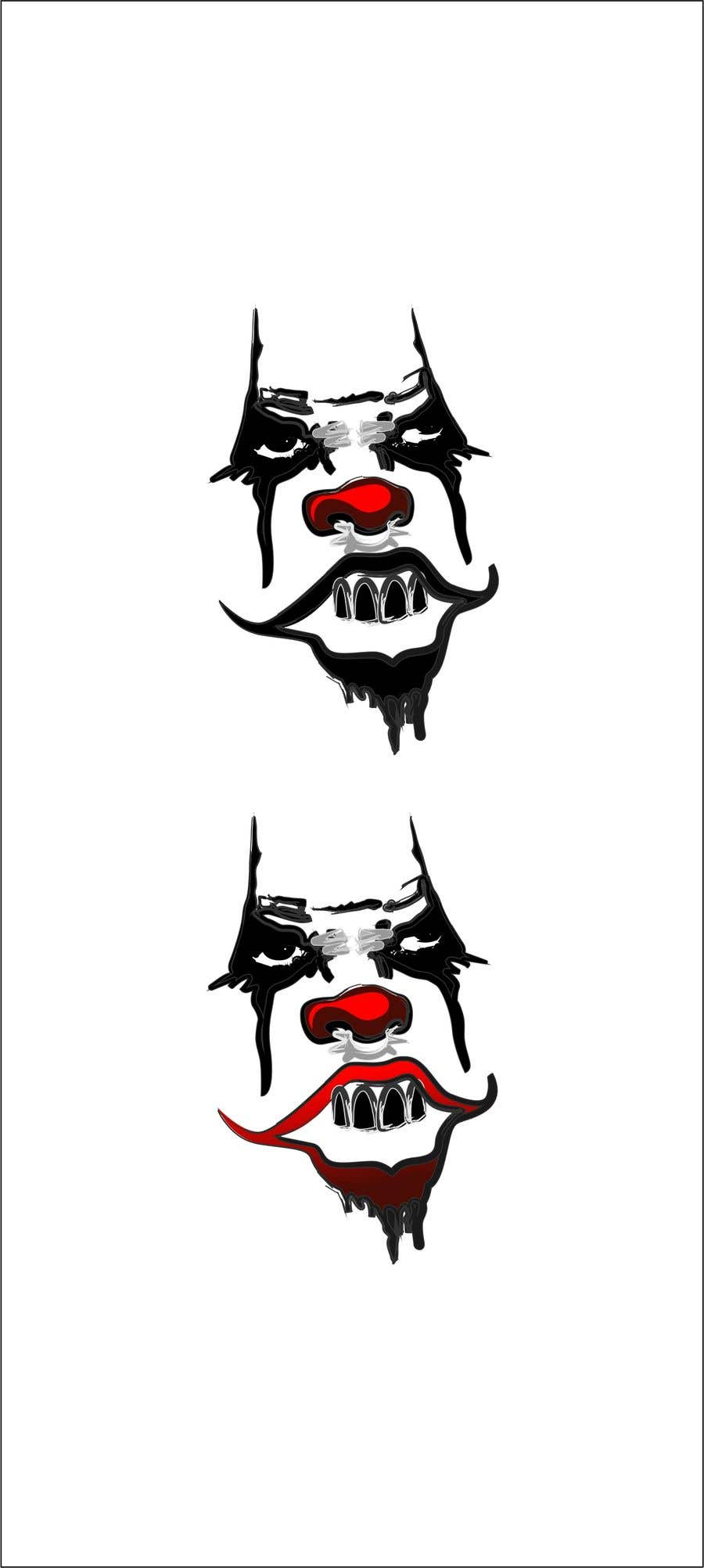 Contest Entry #1 for Logo with simple punk clown face.