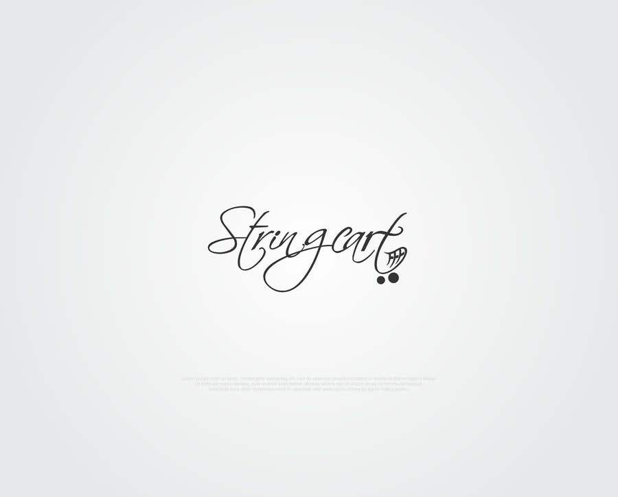 Contest Entry #58 for I need a Word Mark Logo Design for my company - String Cart