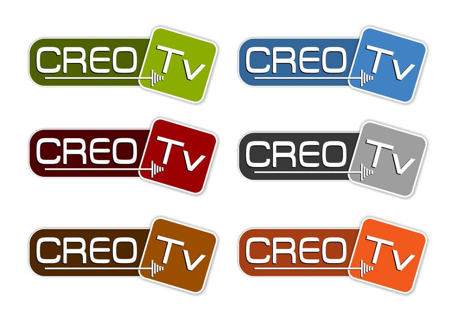 #18 for Logo Design for a new tv channel - CREO Tv by erupt