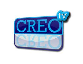 #38 para Logo Design for a new tv channel - CREO Tv por guilleglad