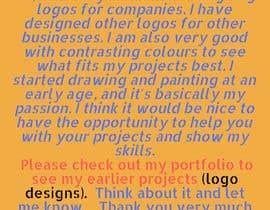 Nro 5 kilpailuun I would like to hire a Logo Designer - 17/04/2019 16:46 EDT käyttäjältä khadizahoqueroc4