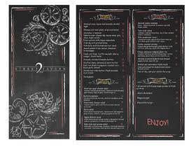 #14 for Menu Design Restaurant (Lunch & Dinner) af Darya5669