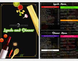 #10 for Menu Design Restaurant (Lunch & Dinner) by kreativewebtech
