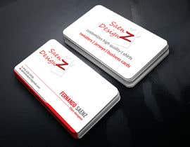 #77 for I want a two sided business card for T-shirt company. af rayhan1999