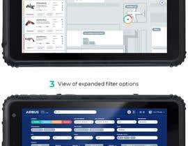 #213 для Mockup an aerospace app for Airbus! от uvarovkv