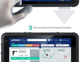 #236 для Mockup an aerospace app for Airbus! от uvarovkv