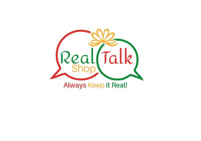 Contest Entry #82 for Logo -  Real Talk Shop