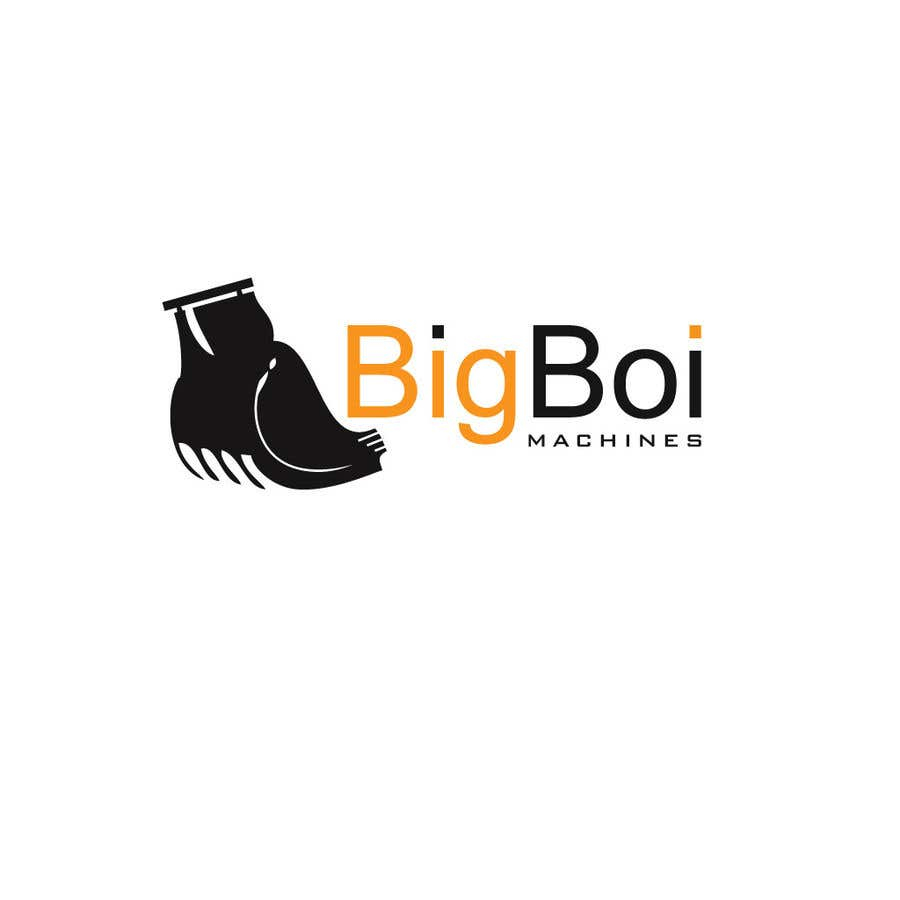 """Konkurrenceindlæg #9 for I have just started an excavation hire business and I need a logo designed for it. I'm looking for a new creative modern design rather than the standard 'run of the mill' logo.   The business name is """"Big Boi Machines""""."""