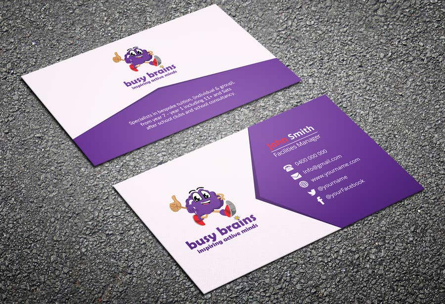Contest Entry #104 for Create a Business card
