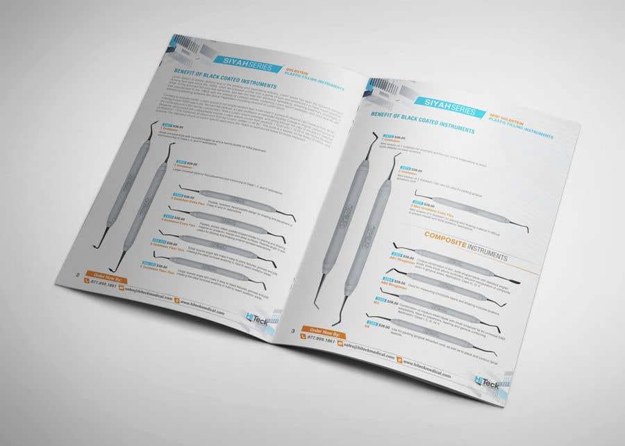 Kilpailutyö #26 kilpailussa Design Catalog Page template