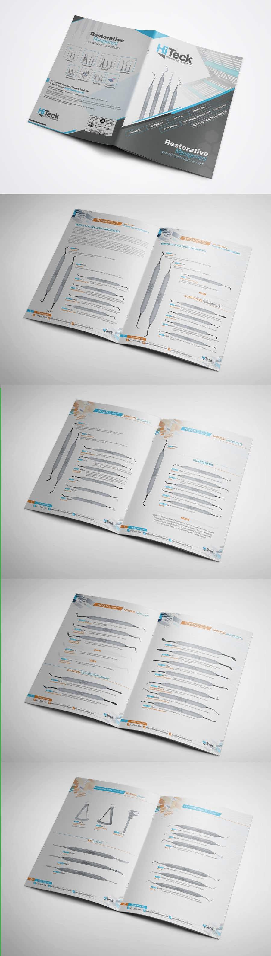 Конкурсная заявка №27 для Design Catalog Page template