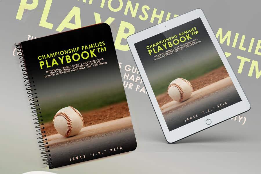 Penyertaan Peraduan #17 untuk Book mockup for the Championship Families Playbook™