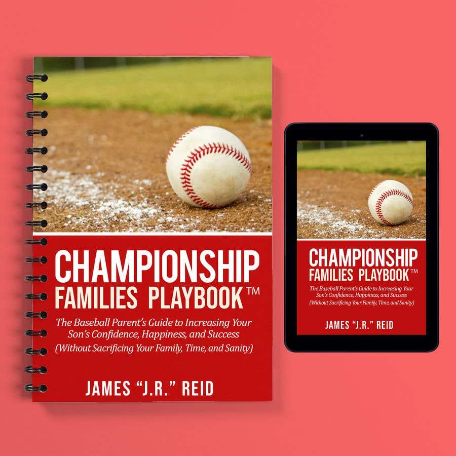 Penyertaan Peraduan #23 untuk Book mockup for the Championship Families Playbook™