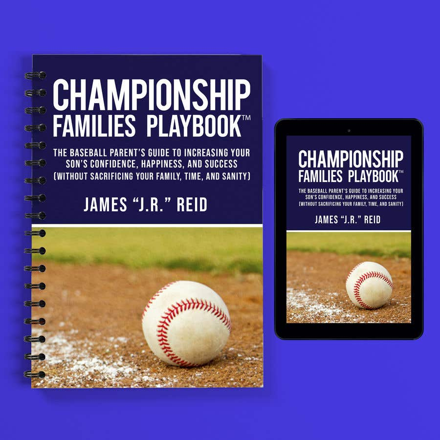Konkurrenceindlæg #46 for Book mockup for the Championship Families Playbook™