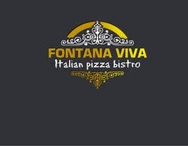 "#19 untuk ""fontana viva italian pizza bistro"" is restutant name, i want to make led gkoe sign board, for that you havr to design some illustration/design (fontana viva is name of my restutant) oleh dulhanindi"