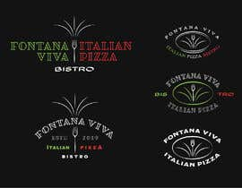 """#10 cho """"fontana viva italian pizza bistro"""" is restutant name, i want to make led gkoe sign board, for that you havr to design some illustration/design (fontana viva is name of my restutant) bởi vladepicgraphics"""