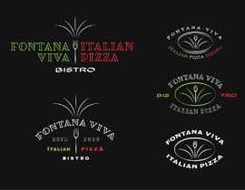 "Nro 10 kilpailuun ""fontana viva italian pizza bistro"" is restutant name, i want to make led gkoe sign board, for that you havr to design some illustration/design (fontana viva is name of my restutant) käyttäjältä vladepicgraphics"