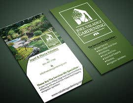 #122 for Revamp Business Card for Landscaping/Gardening Service Provider af MOMODart