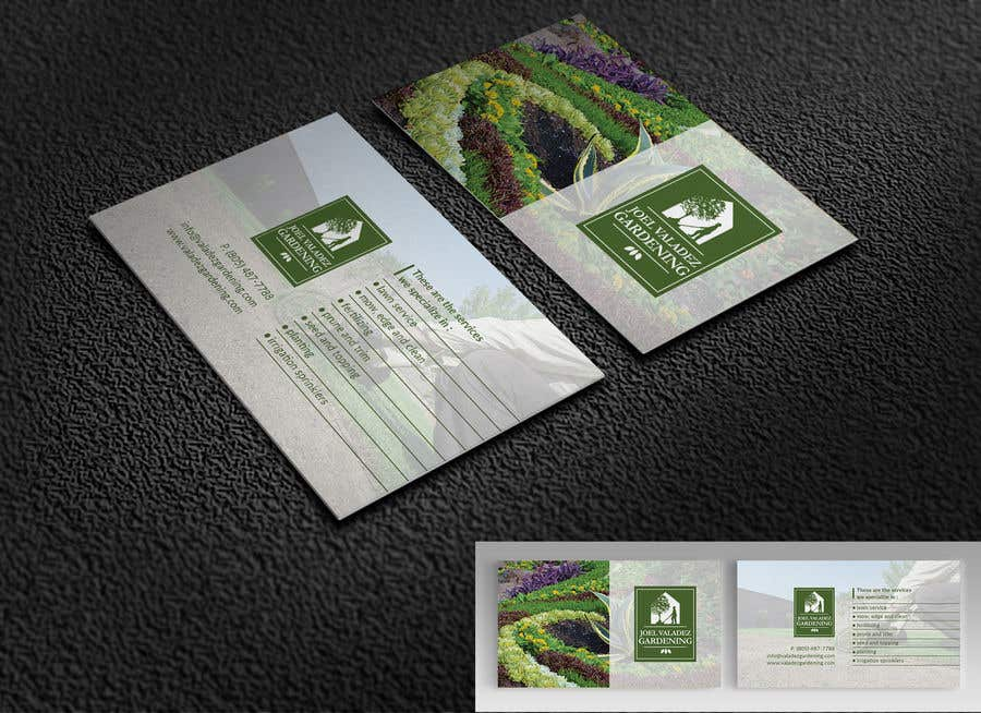 Proposition n°139 du concours Revamp Business Card for Landscaping/Gardening Service Provider