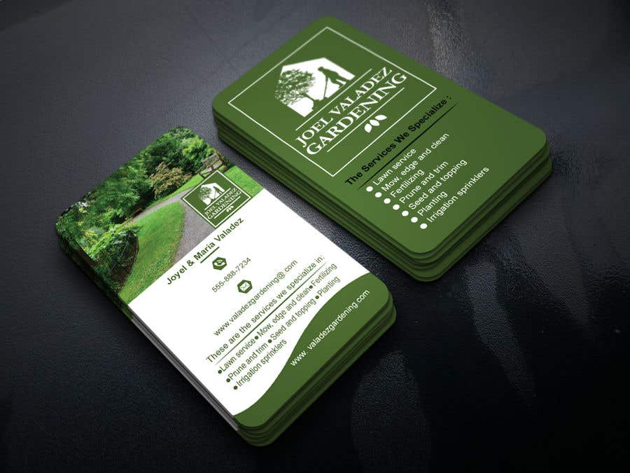 Proposition n°155 du concours Revamp Business Card for Landscaping/Gardening Service Provider