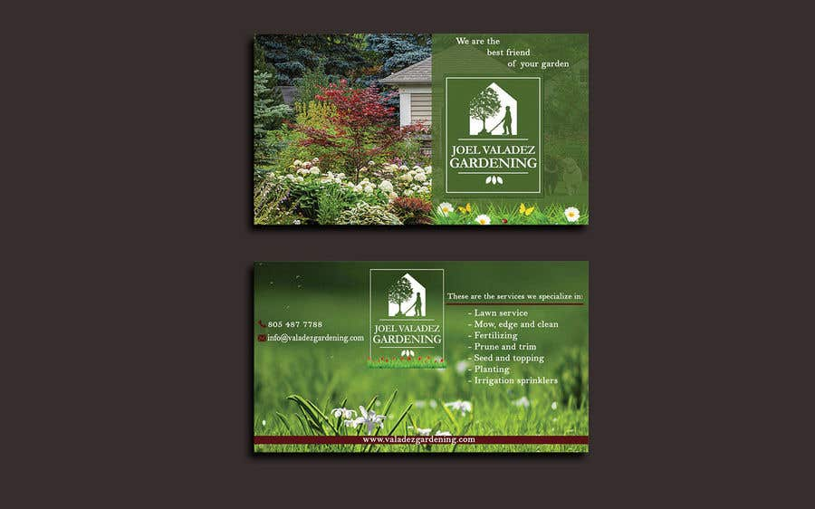 Proposition n°60 du concours Revamp Business Card for Landscaping/Gardening Service Provider