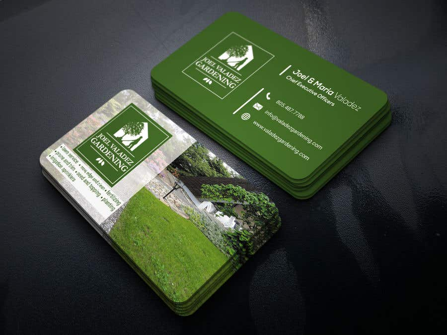 Proposition n°58 du concours Revamp Business Card for Landscaping/Gardening Service Provider